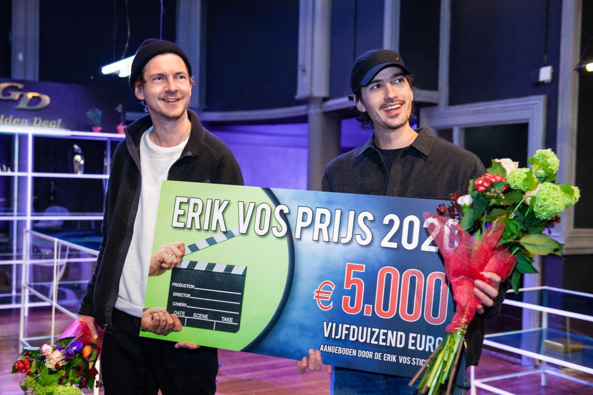 Jan Hulst & Kasper Tarenskeen winnen de Erik Vos Prijs 2020